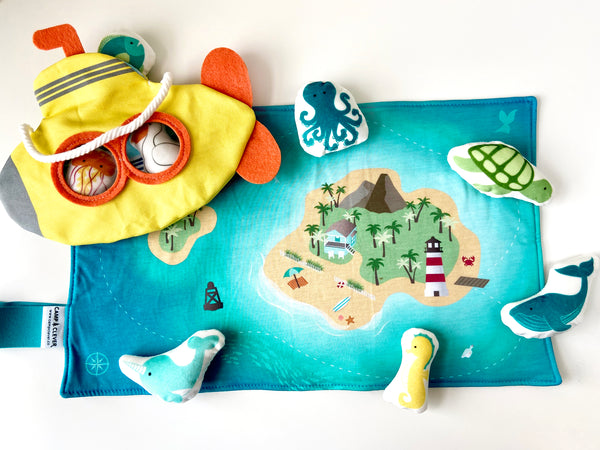 pretend play submarine