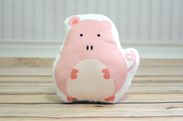 Pig Plush Animal Pillow