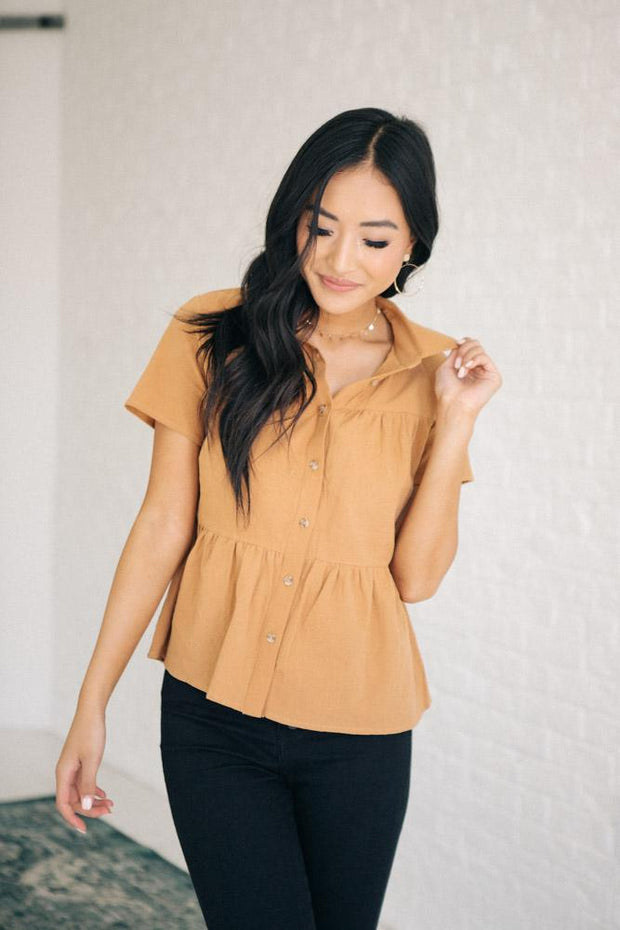 Mayfair Button-up Top