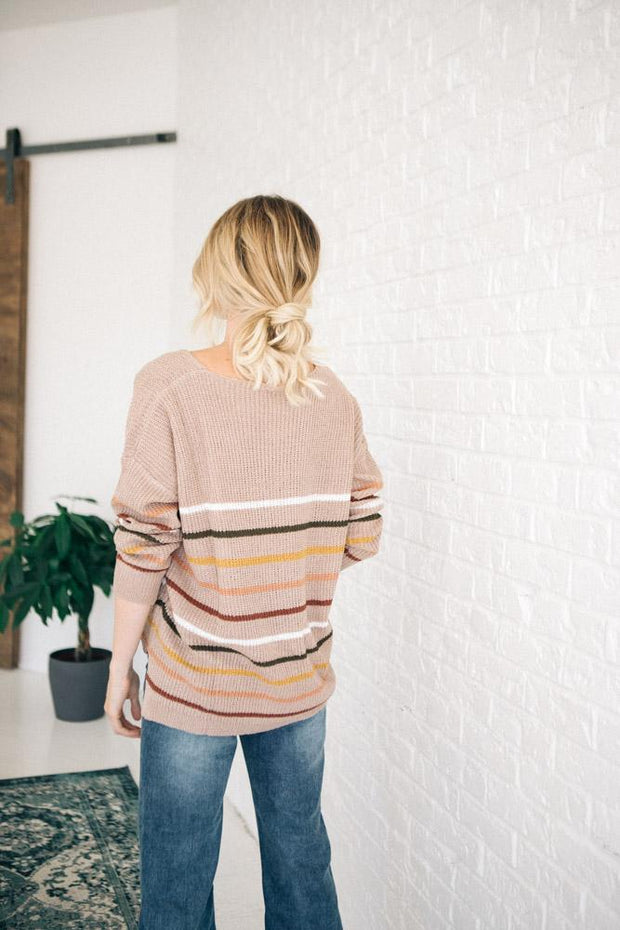 Wynn Stripe Sweater