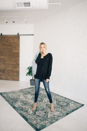 Asheville Sweater in Black