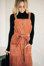 Aspyn Corduroy Dress