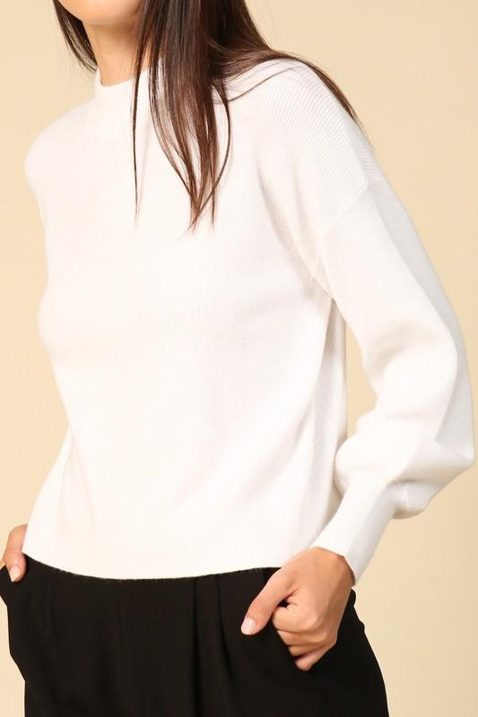 Monique Sweater in White