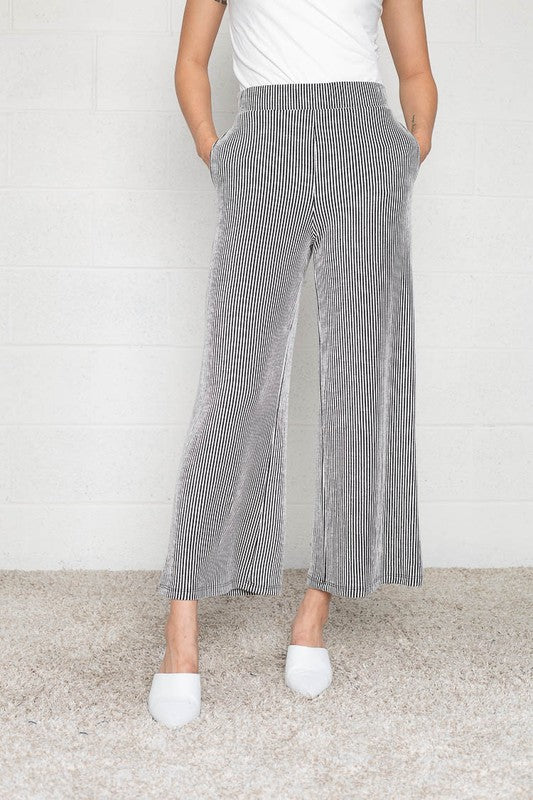 Knox Ribbed Knit Pants - RESTOCK