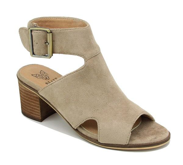 Odyssey Strap Sandals in Taupe