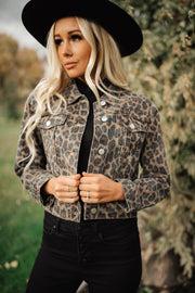 Leopard is a Neutral Jacket