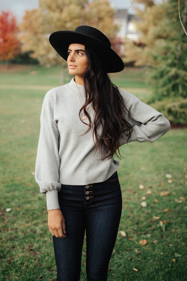 Monique Sweater in Grey