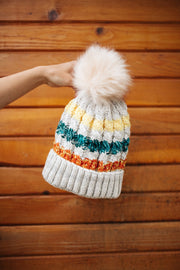 Snowed In Pom Beanie
