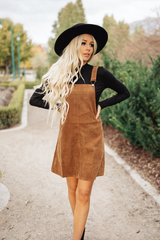 Collins Corduroy Pinafore Dress