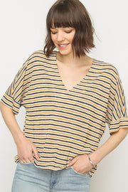 Sevey Striped Tee