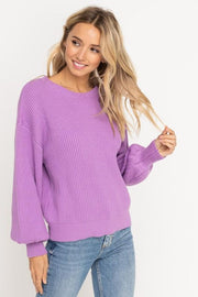 Lavender Lady Sweater