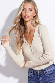 Aria Top in Ivory