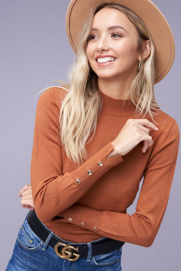 Radley Mock Neck Top