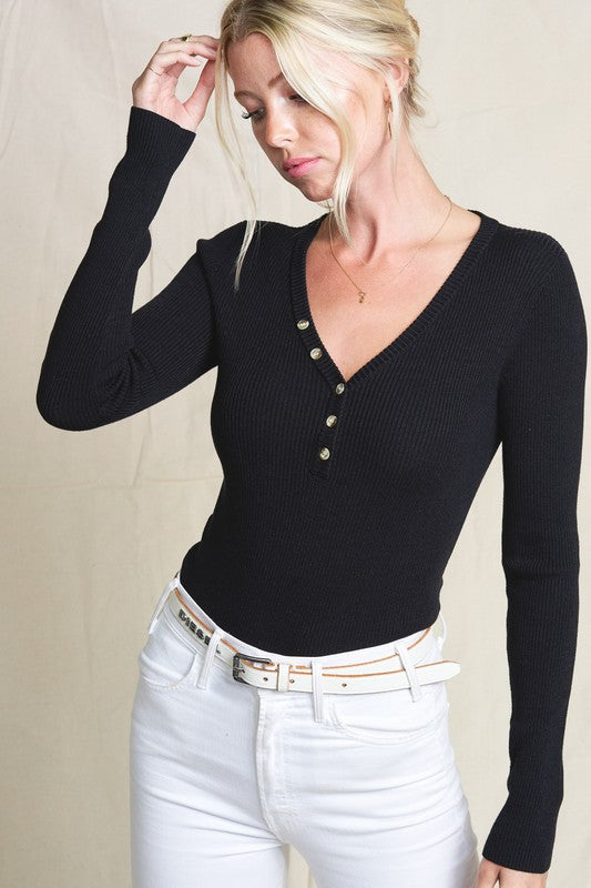Aria Top in Black