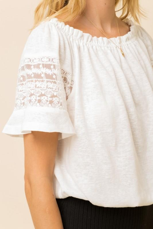 Asteria Lace Top