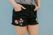 Day n' Night Embroidered Shorts