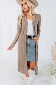 Kobe Ribbed Duster Cardigan
