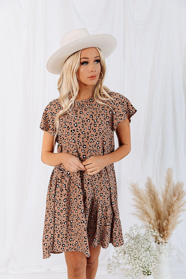 Margot Leopard Dress