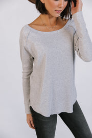 Dean Top in Grey