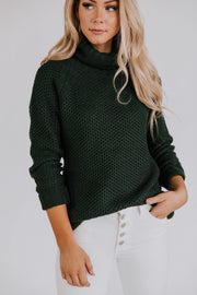 Evergreen Long Sleeve Knit Sweater
