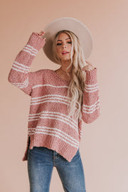Mila Popcorn Knit Sweater
