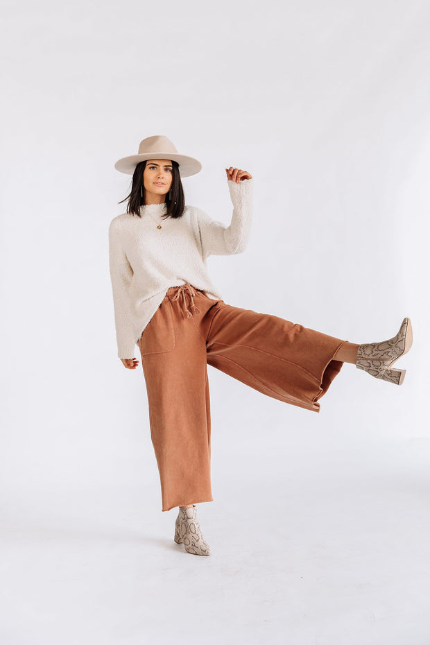 Safe Travels Pants in Rust - RESTOCK