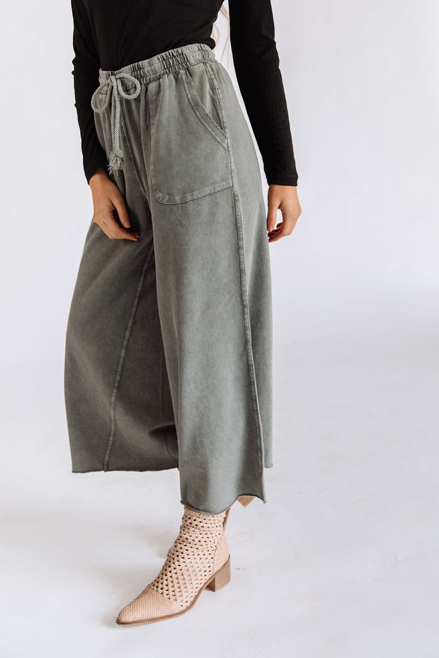Safe Travels Pants in Ash - RESTOCK