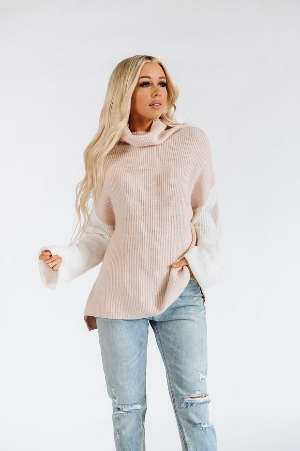 Marli Color Block Sweater