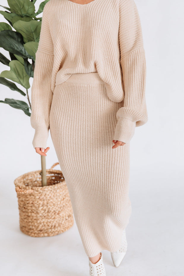 Boston Knit Sweater Set