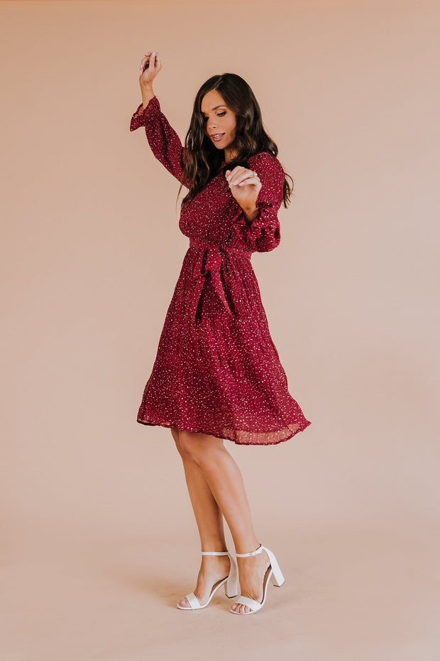 Amore Speckled Dress