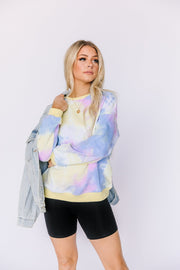 Cloud Nine Tie-Dye Pullover