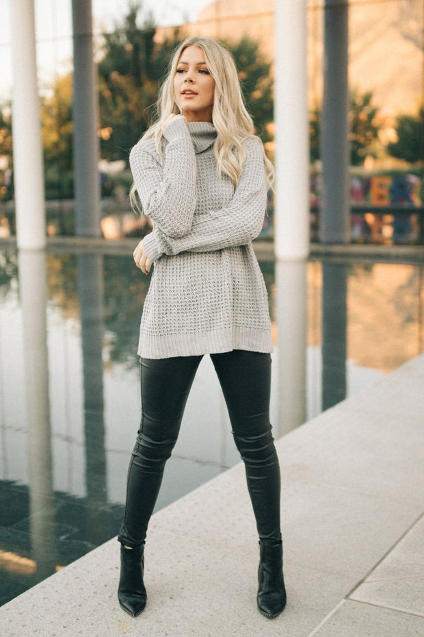 Rocco Waffle Knit Sweater