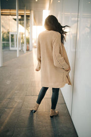 Weslie Cardigan in Toffee