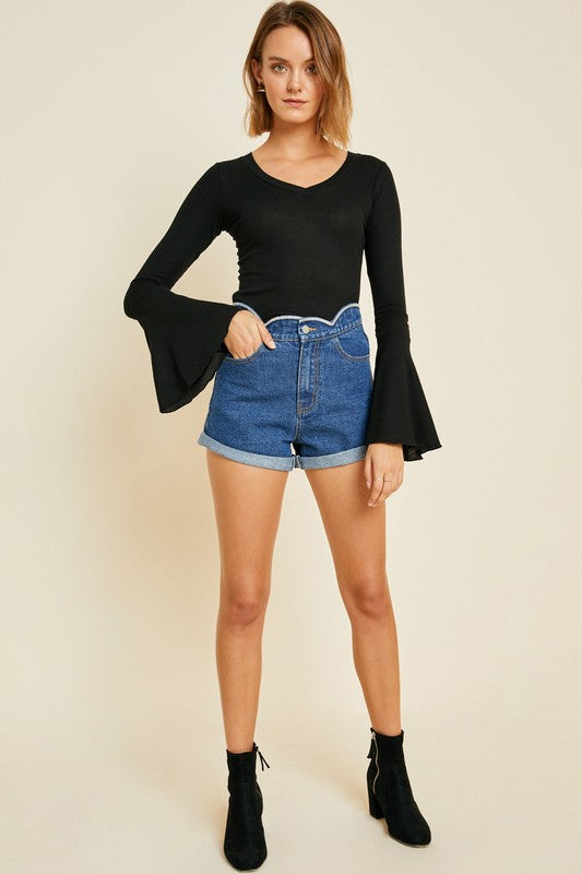 Angie Bell Sleeve Top - RESTOCK