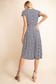 Bridgette Leopard Midi Dress