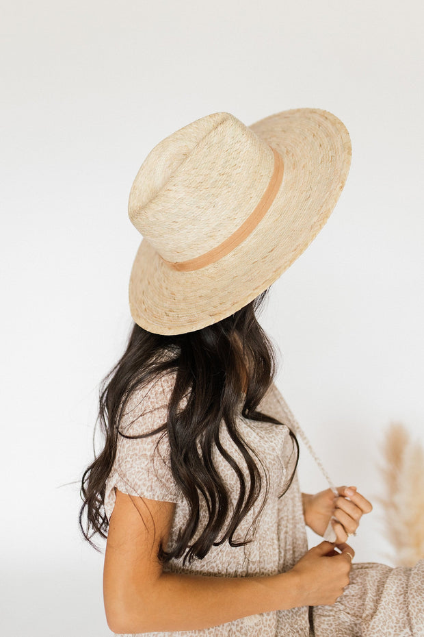 Ella Palm Leaf Hat