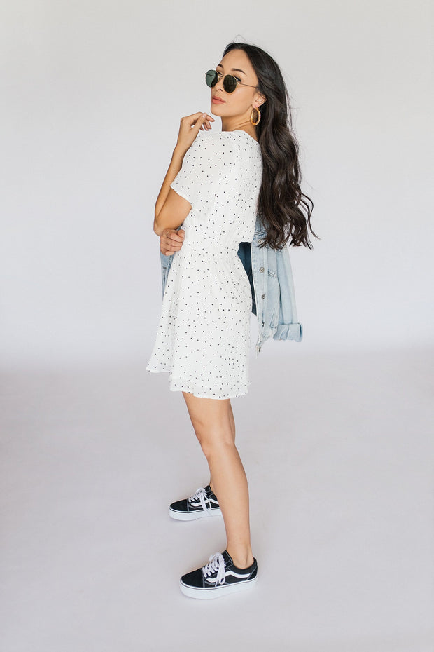 Jordana Polka Dot Dress