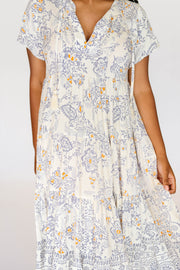 Stevie Dress in Faded Paisley