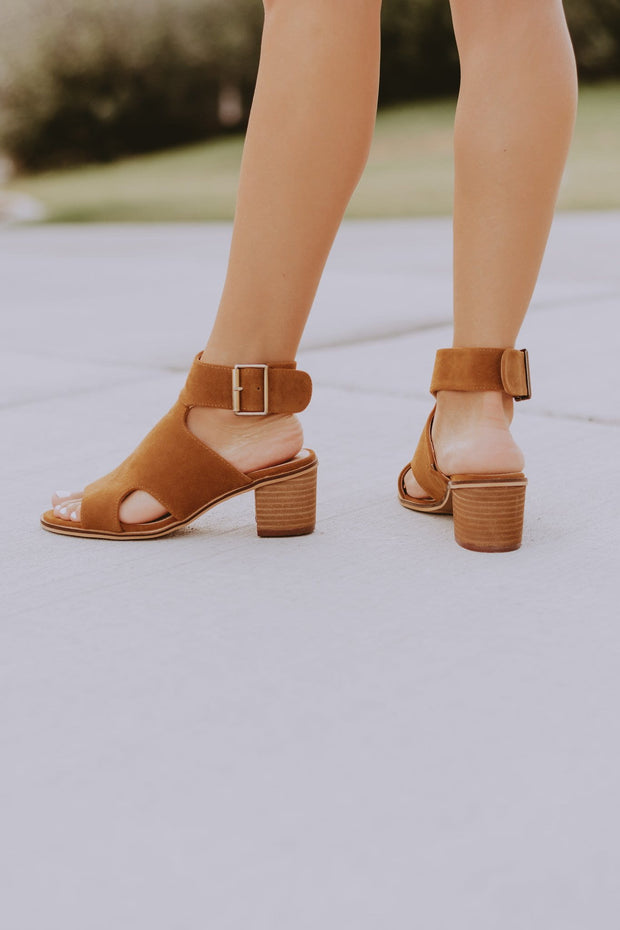 Odyssey Strap Sandals in Camel