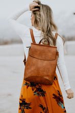 Soren Vegan Leather Backpack