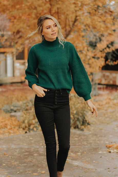 The Evergreen Sweater