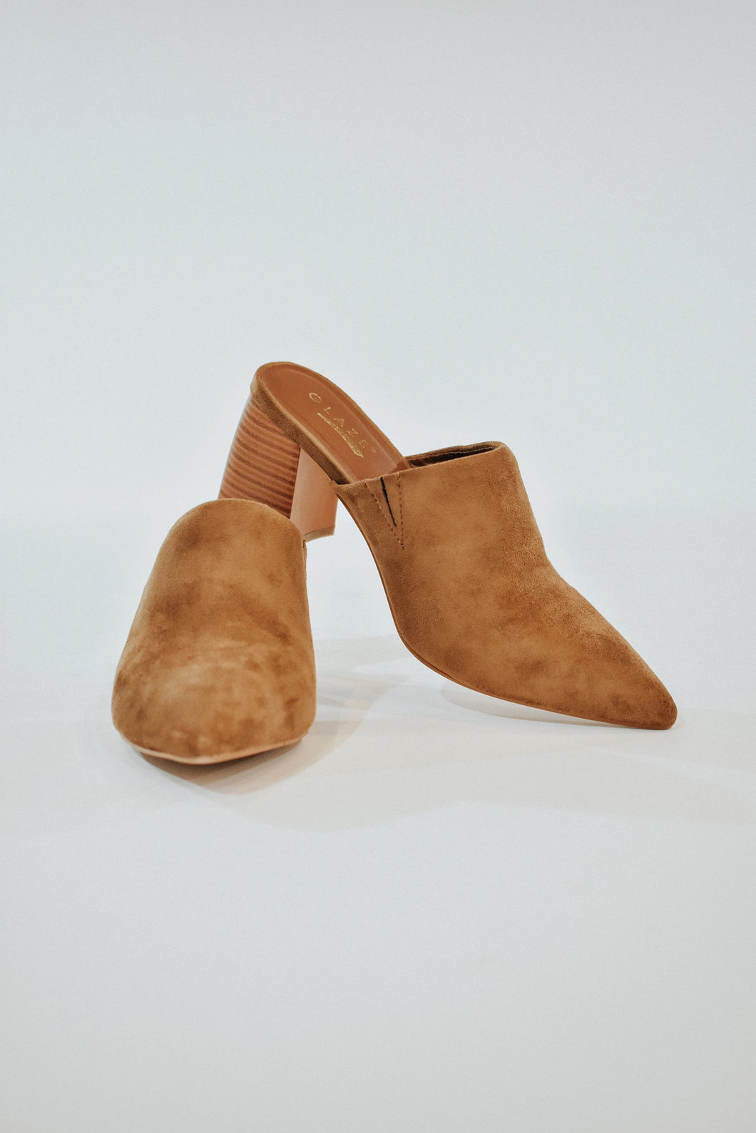Gianna Faux Suede Mules