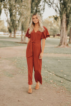 Rani Jumpsuit in Rust