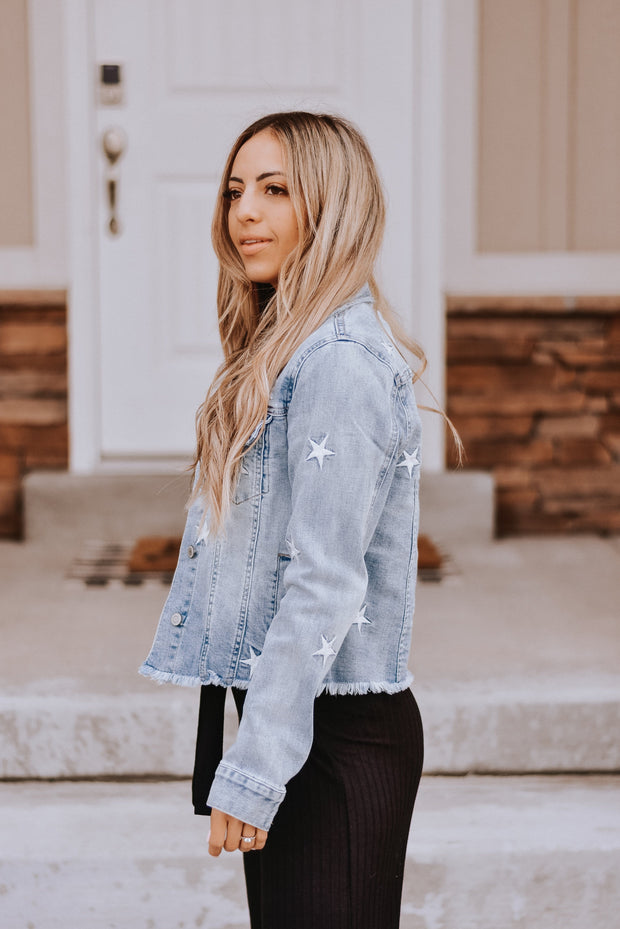 Lombard Star Denim Jacket