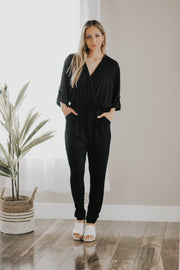 Rawlins Black Jumpsuit