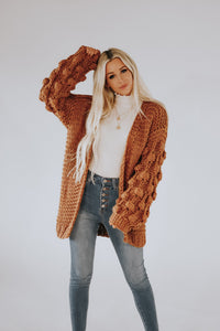 Westbrook Pom Knit Cardigan