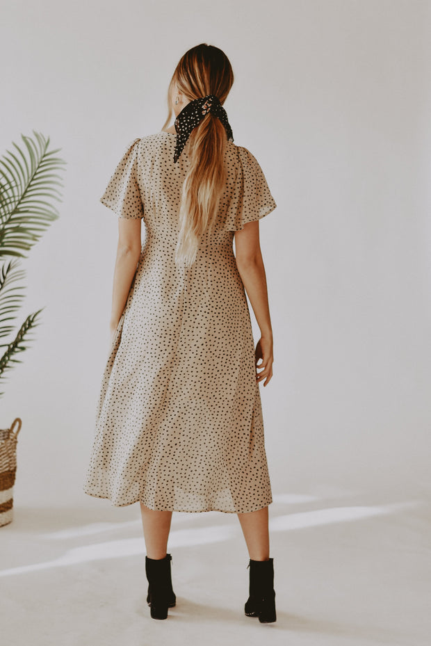 Daniella Leopard Dot Dress