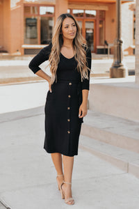 RESTOCK - Middleton Black Dress
