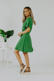 Casablanca Dress in Green
