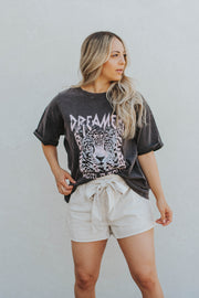 Dreamer World Tour Leopard Tee